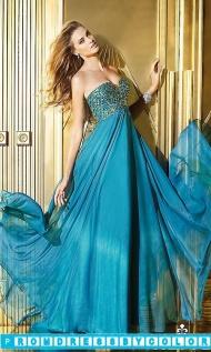 Black Prom Dresses - Flowing Floor Length Strapless Sweetheart Alyce Paris Dress at www.promdressbycolor.com