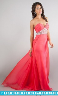 Red Prom Dresses - Floor Length Strapless Sweetheart Dress at www.promdressbycolor.com