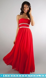 $149 Black Prom Dresses - Long Strapless Prom Dress at www.promdressbycolor.com