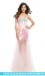 $223 Black Prom Dresses - Long Strapless Sweetheart Sequin Dress at www.promdressbycolor.com